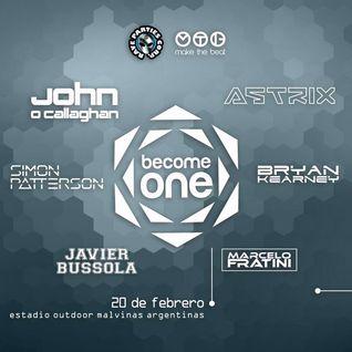 John O'Callaghan - Live @ Become One, Estadio Malvinas (Buenos Aires) - 20.02.2016