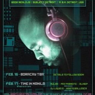 Boom Tchack with Dj Bone live @ Time in Makati City 17-02-2012