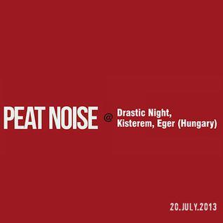 Peat Noise @ Drastic Night, Kisterem, Eger (Hungary) (20.JULY.2013)
