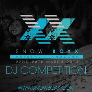 Snowwboxx DJ Competition