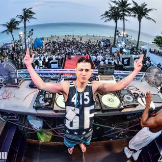 DJ CROSS CUTZ - SPRING BREAK On The Beach, Kenting, TAIWAN 2016 (extract)