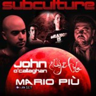 Mario Piu@Subculture Dublin old school BXR SET