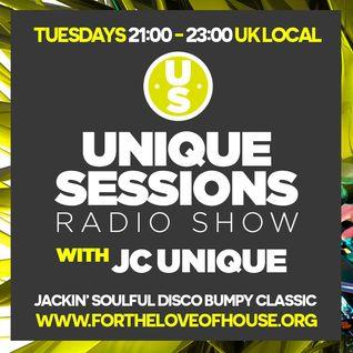 Unique Sessions - 25th October 2016