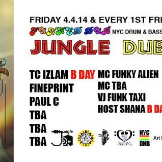 Jungle Drum & Bass Cast 3.7.14