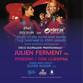 Julien Ferment Demo Disco Mix For Disco Tallinn November 2016