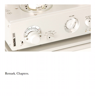 Remark presents Chapters - Winter 2014