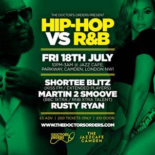 Hip-Hop vs R&B Mixed By Russ Ryan