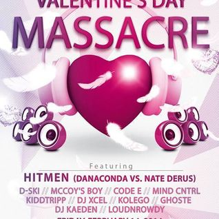 Hitmen & DanAconda - Valentine's Day Massacre, The Rave, MKE (2-14-14)