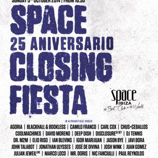 Pional - Live @ Space Closing Party 2014 (Ibiza) - 05.10.2014