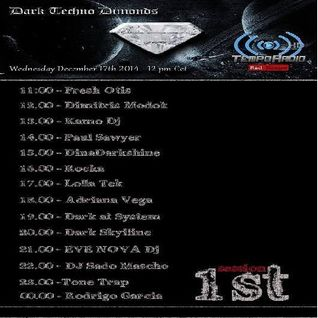 Kamo DJ on Tempo Radio(Dark Techno Diamonds) - 17.12.14