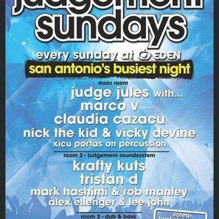 Krafty Kuts - Judgement Sundays - Live at Eden, Ibiza - 26-june-2011