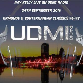 Ray Kelly UDMI Radio 24th September 2016