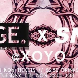 Mix for Sneak @ XOYO 12/11/2014