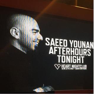 Saeed Younan Live @ Heart Afterhours, Miami
