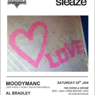 Stereo Sleaze Moodymanc Gimmick Records Radio show mix
