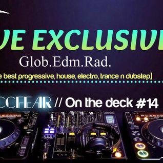 Zaccfear On the Deck #14 (GLOBAL EDM RADIO) [60MIN]