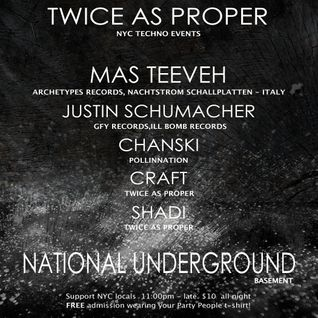 Mas Teeveh @ National Underground (New York) Nov9th, 2012