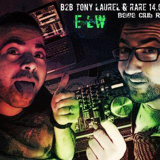 B2B TONY LAUREL & RARE DJ (ANOMALIZE) 14.04.16