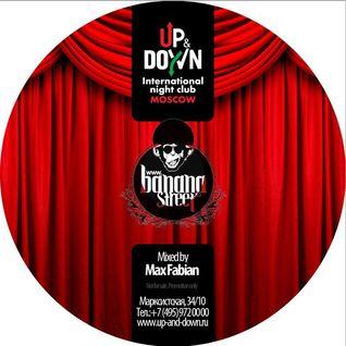 Max Fabian at Up&Down international night club Moscow