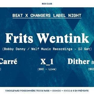 POINT CARRE - BEAT X CHANGERS LABEL NIGHT AT REX CLUB