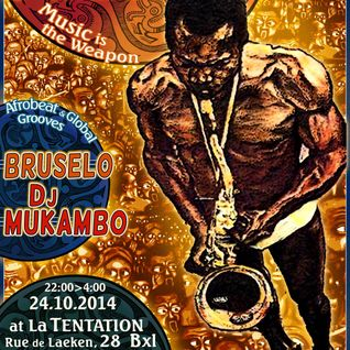 Groovalicious Radio Mix #7 - Felabration Brussels