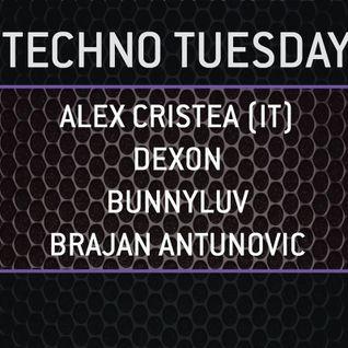 Alex Cristea live at  WIOYM - Techno Tuesday - 15 September 2015