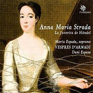 """Handel - """"Alcina"""" Danzas - CD: Anna Maria Strada (con Vespres d Árnadi)"""