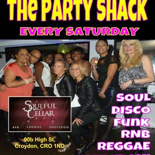 Reggie Styles Live from The Party Shack Every Sat @ The Soulful Cellar, Croydon