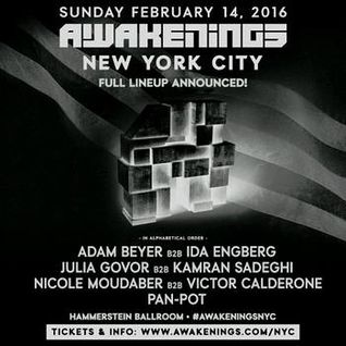 Nicole Moudaber b2b Victor Calderone - Live @ Awakenings, Hammerstein Ballroom, NYC 14.02.2016
