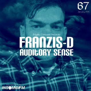 Franzis-D - Auditory Sense 067 @ InsomniaFm - Jan 08, 2015