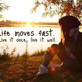 MY LIFE MOVES TO FAST.DJ ERAZE