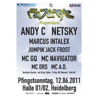 Andy C + MC GQ @ FUTURE Pfingsterlebnis, halle02 Heidelberg (12.06.2011)