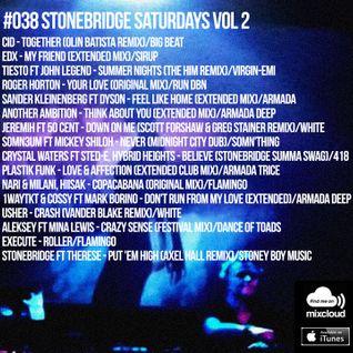 #038 StoneBridge Saturdays