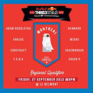 DJ Adam Doubleyou - Canada - Montreal Qualifier