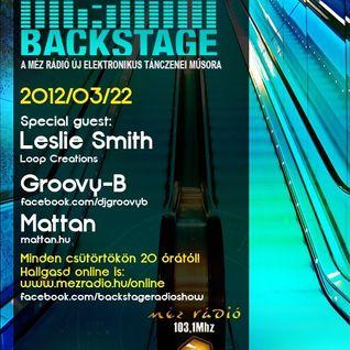 Leslie Smith - Backstage Radio Show @ Méz Rádió (Mar-22-2012)