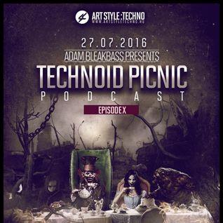Adam BleakBass Presents : Technoid Picnic Podcast | Episode X : Lacix