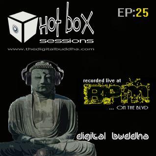 Hot Box Sessions EP25 - digit@l buddha (recorded live @ BPM)