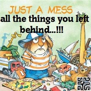 ALL THE THINGS YOU LEFT BEHIND...!!!