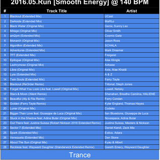2016.05.Run [Good Energy] @ 140 BPM - Trance