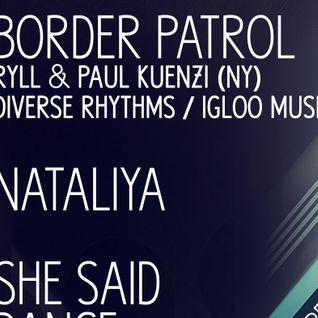 Paul Kuenzi & RyLL - Live @ Paaeez 5.10.13