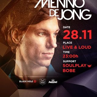 Soulplay - Warm Up @ Menno De Jong at Live & Loud (28.11.2015)