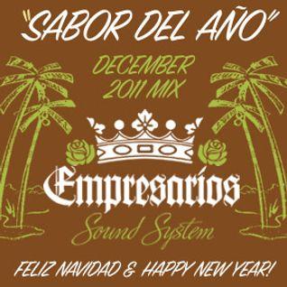 """Empresarios - """"Sabor Del Año Mix"""" - Dec 2011"""