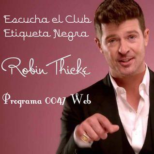 Programa 0047 Web Club Etiqueta Negra