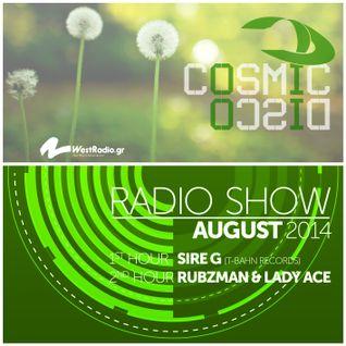 Cosmic Disco Radioshow - AUGUST 2014