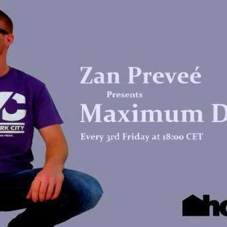Zan Preveé - Maximum Densities 021 Houseradio.pl 2016.02.19