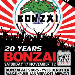 dj Ghost  @ 20 Years Bonzai Retro Party 17-11-2012