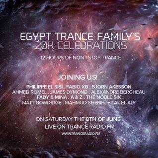 Matt Bowdidge - Egypt Trance Family 20K Celebration