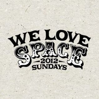 Sandwell District (live) @ We Love.. Space Ibiza -  Discoteca (26.08.2012)
