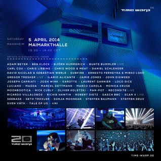 Jamie Jones @ Time Warp Mannheim 2014 (20 Years Anniversary) (05.04.14)