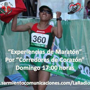 """""""Experiencias de Maratón"""", emisión 31 de """"Corredores de Corazön"""", 07 de dic 2014."""